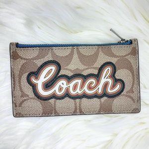 Coach Zip Card Case F76866